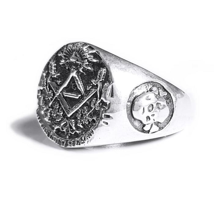 Inel argint 925 cu cruce si simboluri malteze , Ritual 2