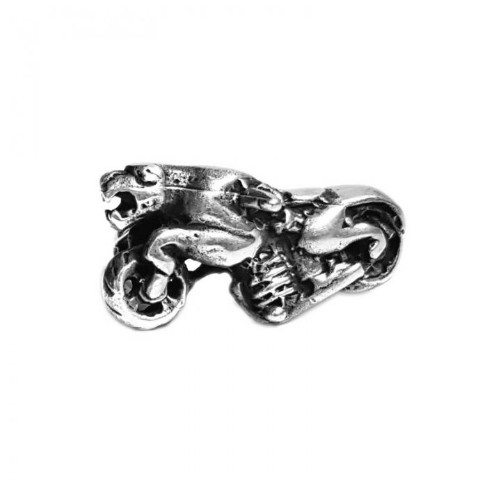 Inel argint 925 cu motocicleta, Primal Spirit 0