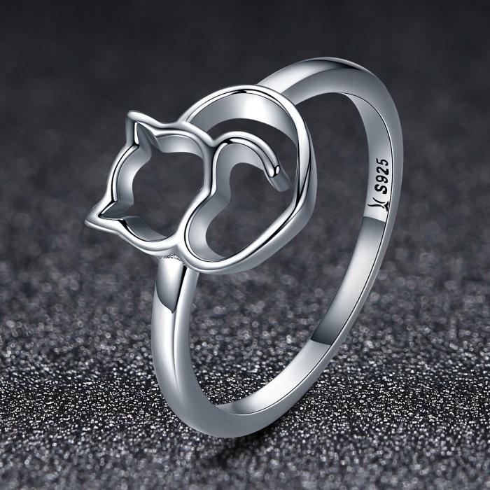 Inel argint 925 cu pisicuta - Be Nature IST0029 1