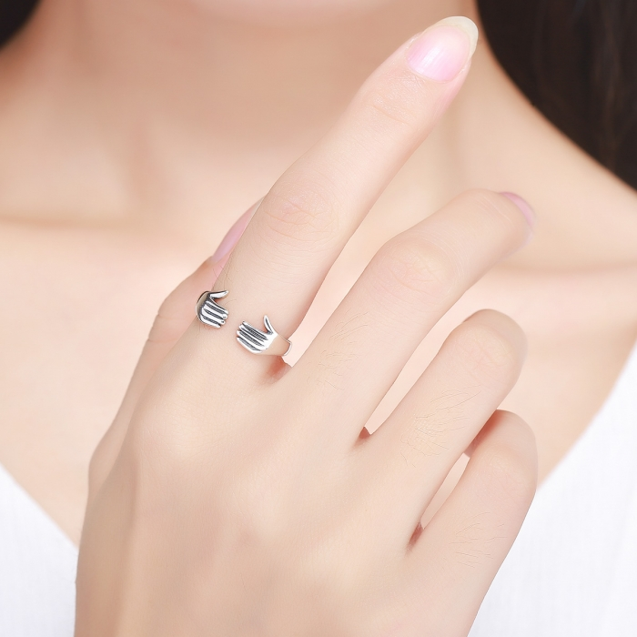 Inel argint 925 Imbratiseaza-ma Hug Me - Be Authentic IST0031 4