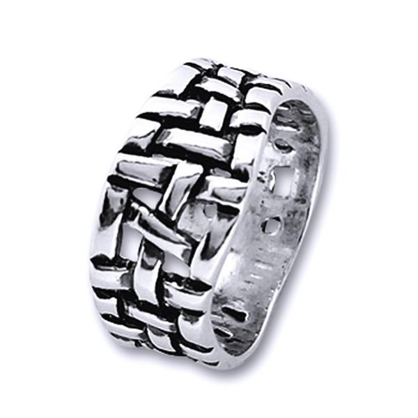 Inel argint 925 impletit lucrat manual - Be Nature [0]