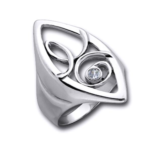 Inel argint 925 lucrat manual cu spirala [0]