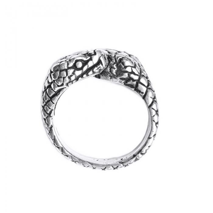 Inel argint 925 reglabil, cu serpi 0