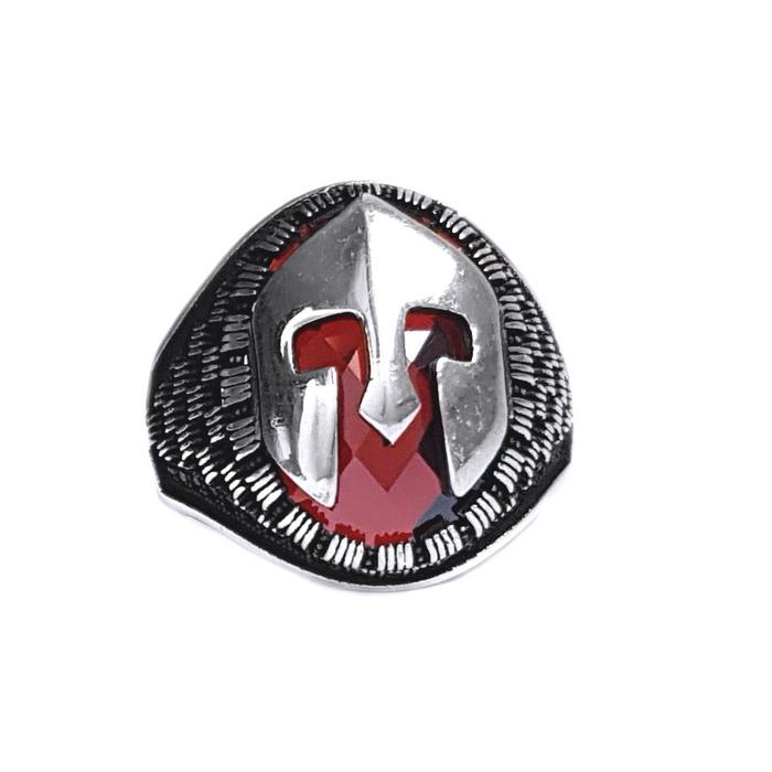 """Inel argint 925 """"This is Sparta!"""" cu zirconiu 0"""