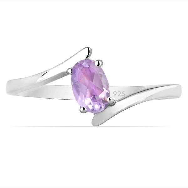 Inel argint Aurora, 925, cu ametist roz - IVA0035 [1]