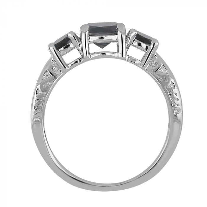 Inel argint cu 3 pietre de Onix - IVA0110 [3]