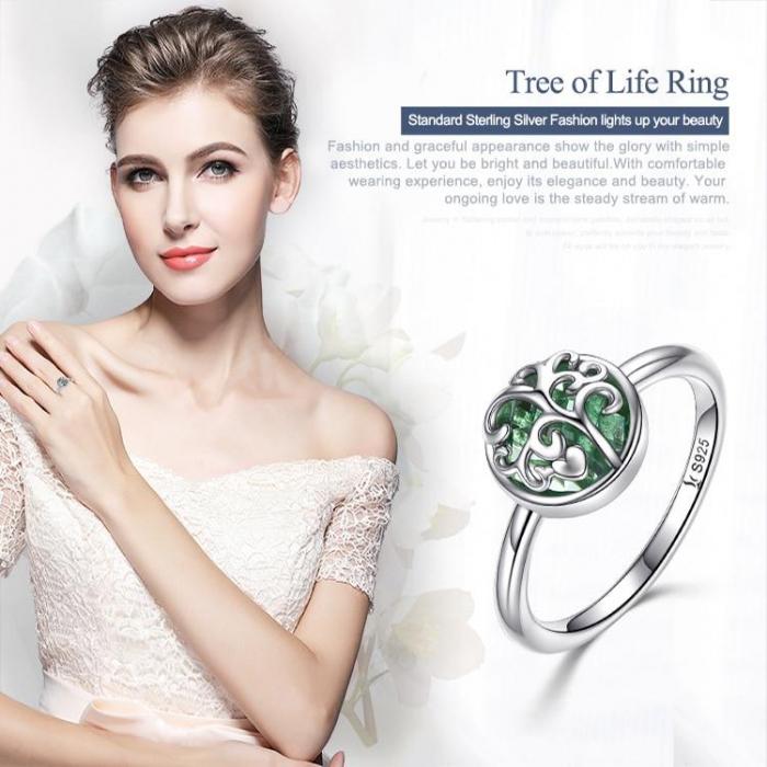 Inel argint cu copacul vietii 1