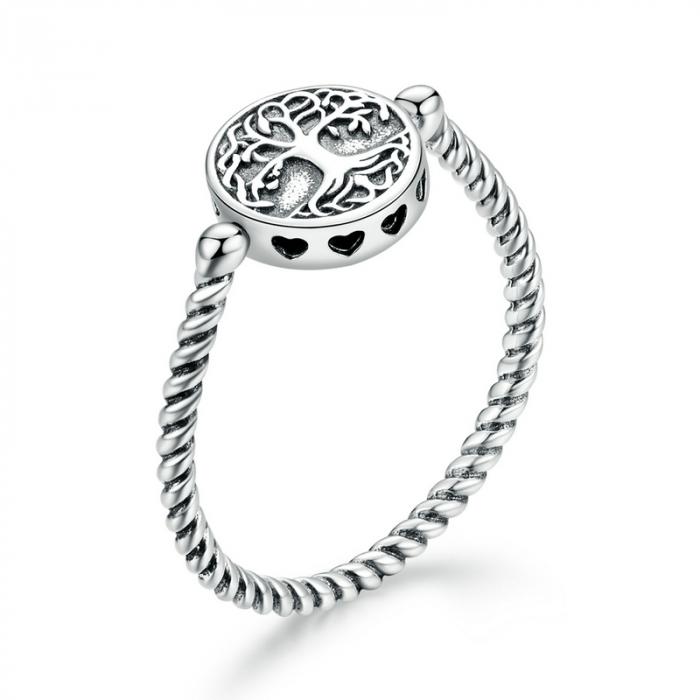 Inel argint cu copacul vietii [0]