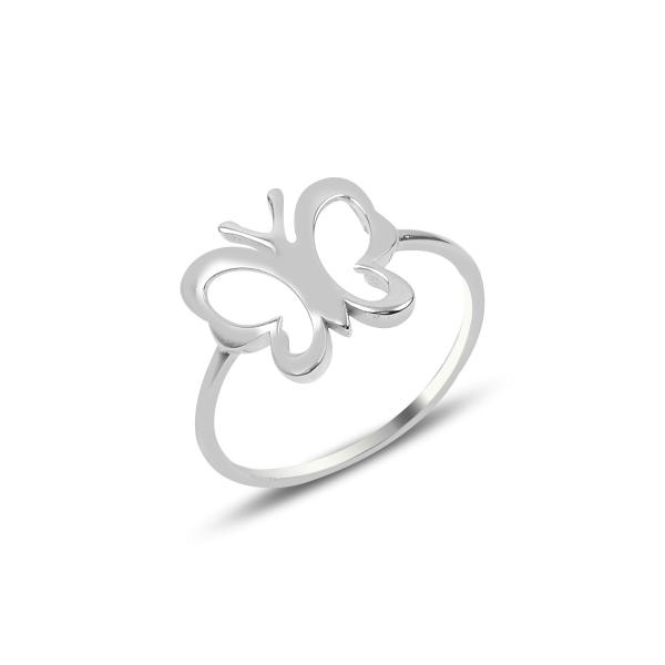 Inel argint cu flururas - ITU0238 0