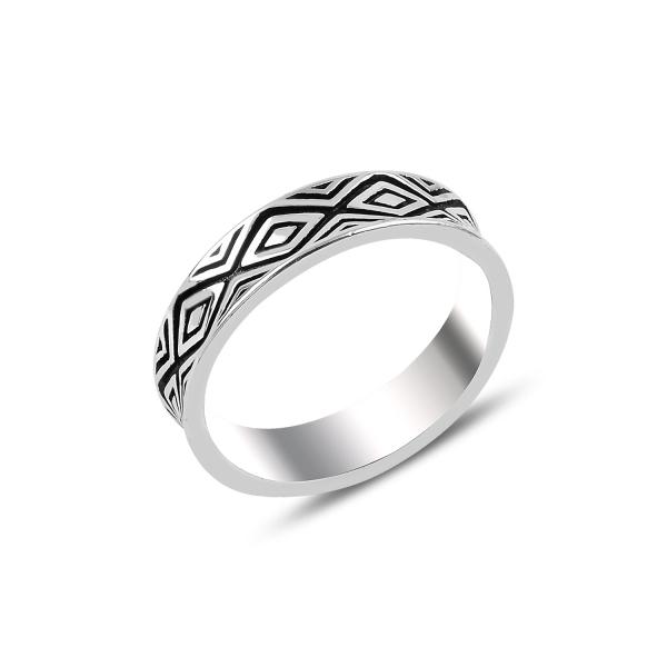 Inel argint cu model [0]
