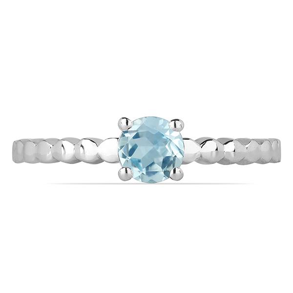 Inel argint Rosalind, 925, cu topaz Sky Blue - IVA0060 1