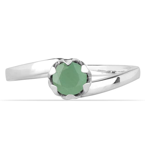 Inel argint Roxelana, 925, cu smarald - IVA0069 1