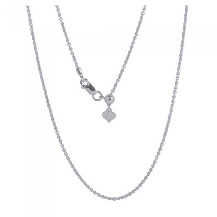 Lant din argint 925 reglabil de la 35 cm la 61 cm LSX0137 [0]