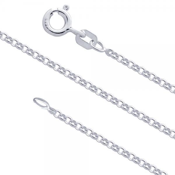 Lant argint 925 cu zale rotunde latime 1.5 mm 51 cm LSX0040 [0]