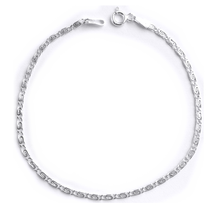 Lant elegant din argint 925 de 45 cm 0