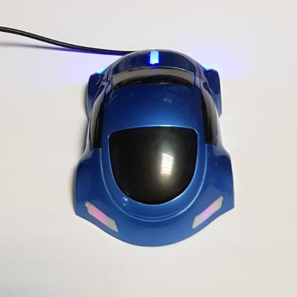 Mouse funny optic in forma de masinuta albastra 2