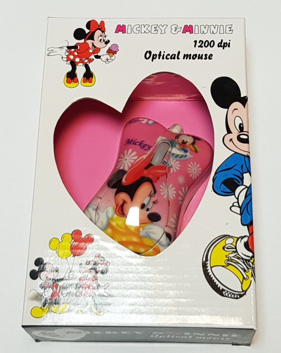 Mouse funny optic Mickey & Minnie 3