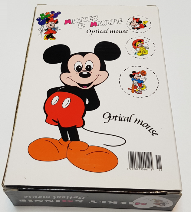 Mouse funny optic Mickey & Minnie 4
