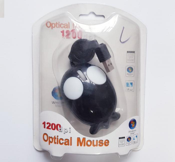 Mouse funny optic mini - in forma de pestisor 3