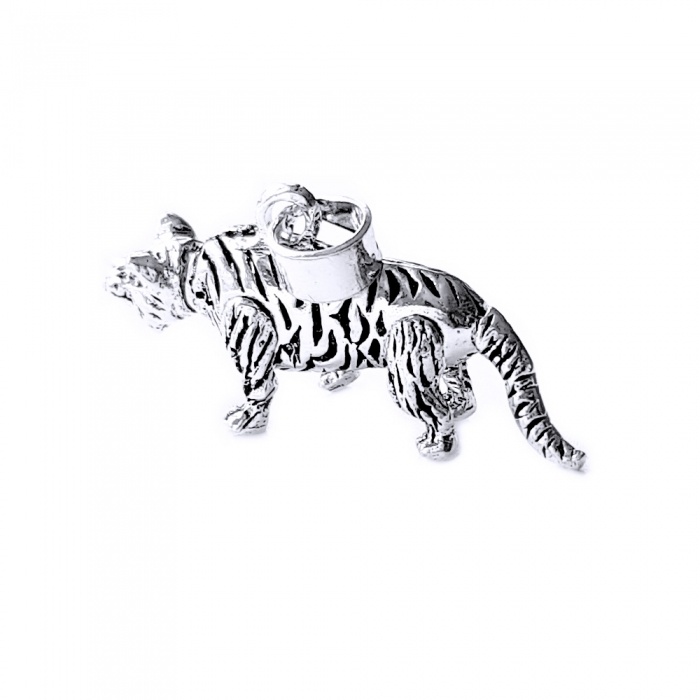 Pandant argint 925 tigru cu parti mobile 1