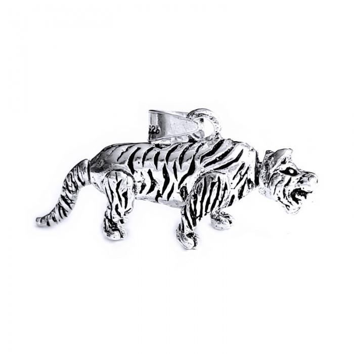 Pandant argint 925 tigru cu parti mobile 0