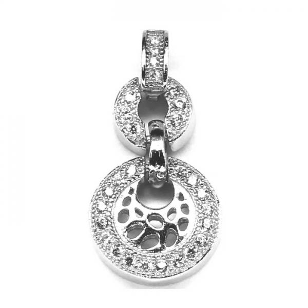 Pandant argint 925 cu zirconii 0