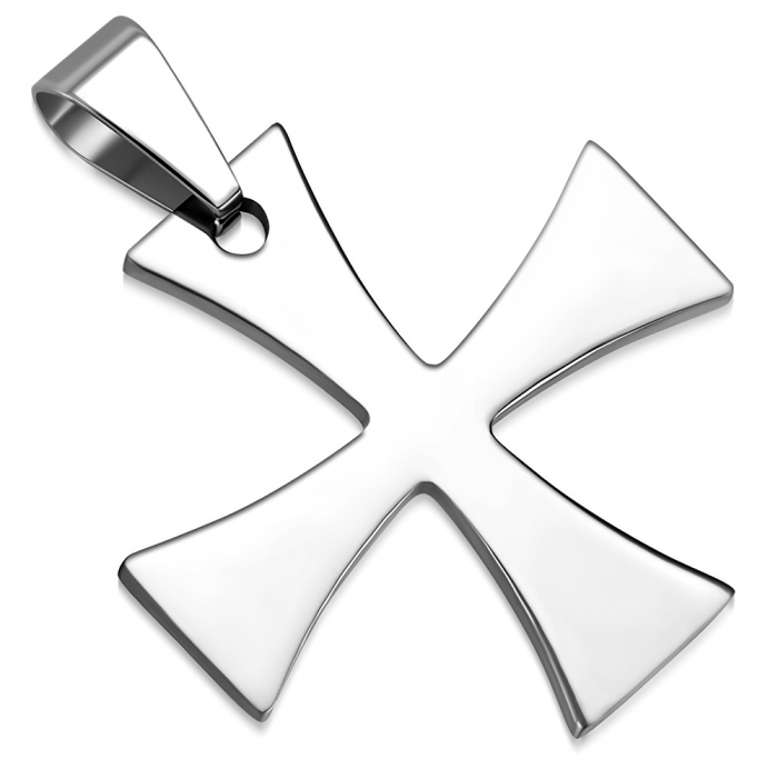 Pandant inox cruce malteza PSL1506 0