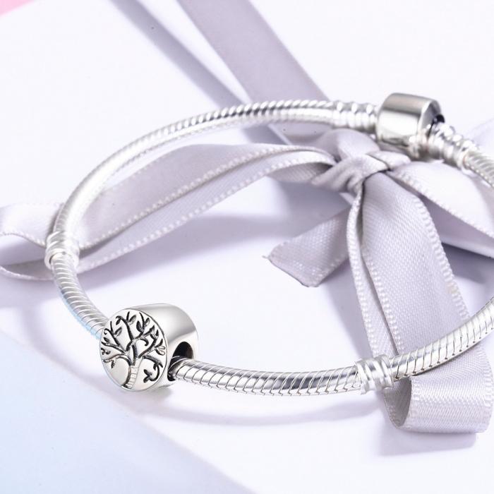 Pandantiv argint 925 cu copacul vietii cu aspect vintage - Be Nature  PST0109 [2]