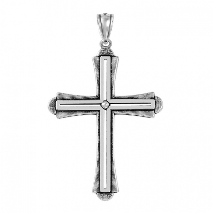 Pandantiv argint 925 in forma de cruce PSX0567 1