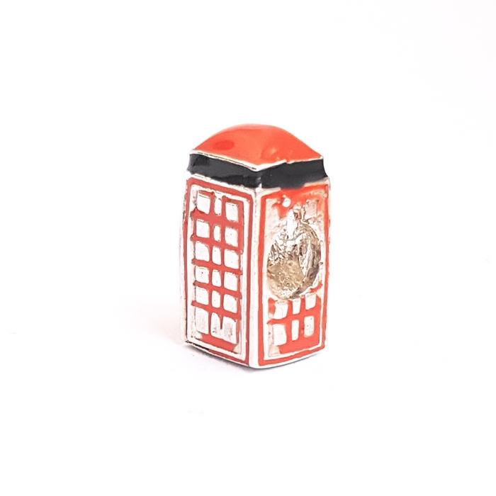 Pandantiv argint 925 cabina telefonica Londra pentru bratara tip charm PAN0488 0