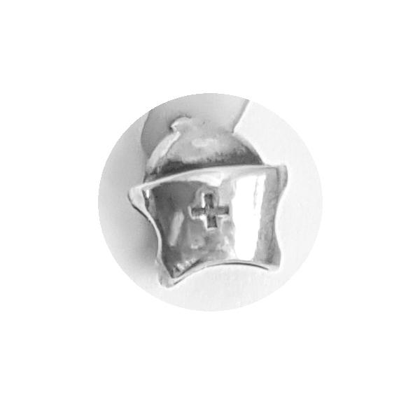 Pandantiv argint 925 cruce cu aspect vintage pentru bratara tip charm PAN0483 1