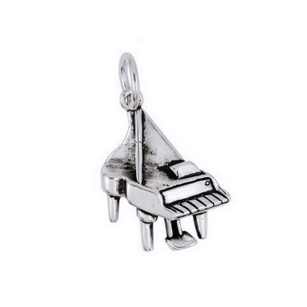 Pandantiv argint 925 in forma de pian 0