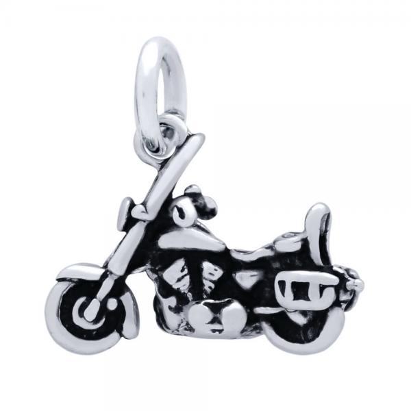 Pandantiv biker din argint 925 motocicleta 1