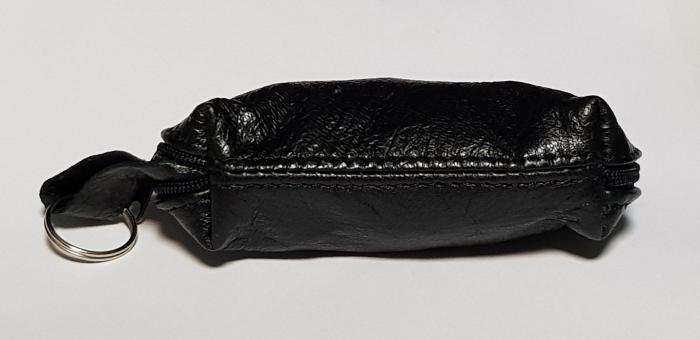 Portchei piele naturala Negru pentru chei lungi PCH68 3