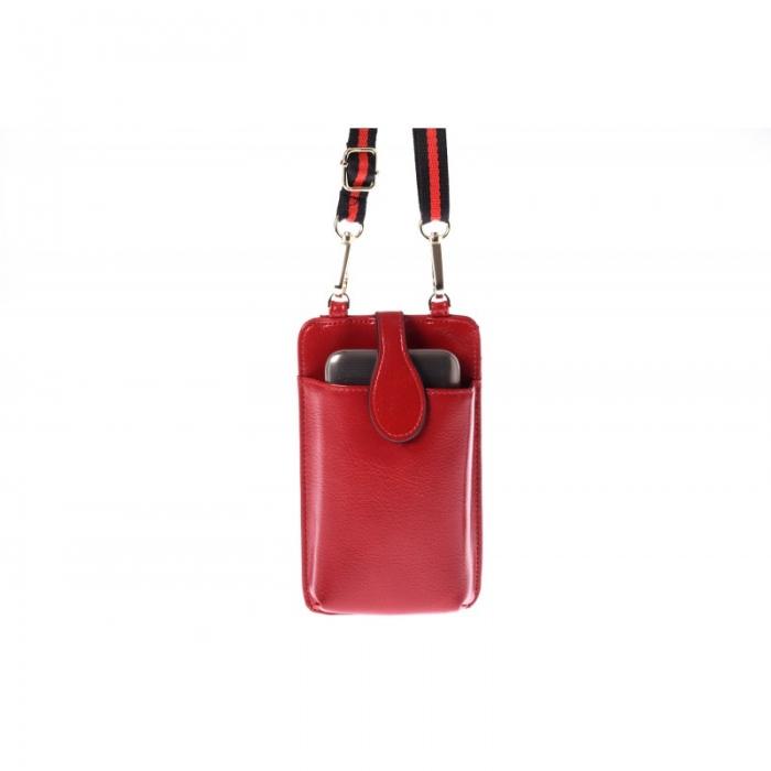 Portdocument (mini-borseta de umar) cu husa telefon din piele ecologioca (PU)   BOR10 5