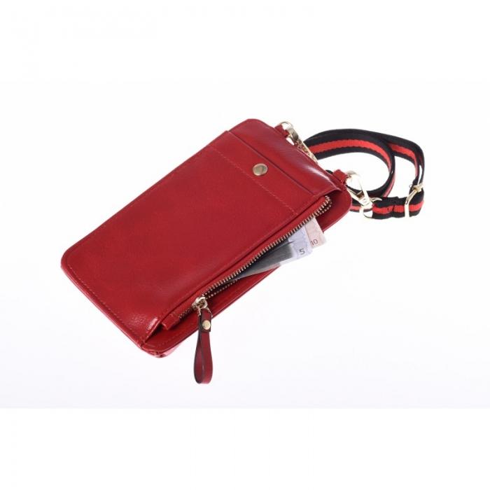 Portdocument (mini-borseta de umar) cu husa telefon din piele ecologioca (PU)   BOR10 2