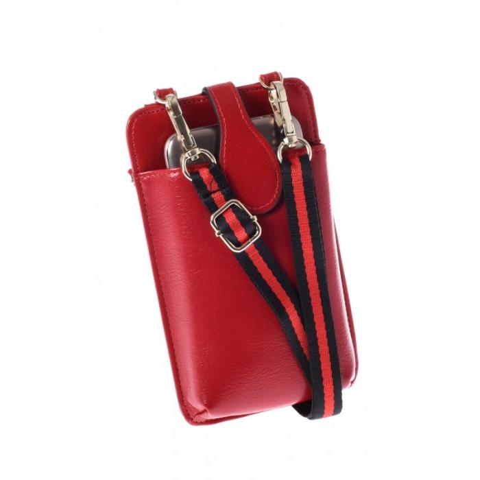 Portdocument (mini-borseta de umar) cu husa telefon din piele ecologioca (PU)   BOR10 0