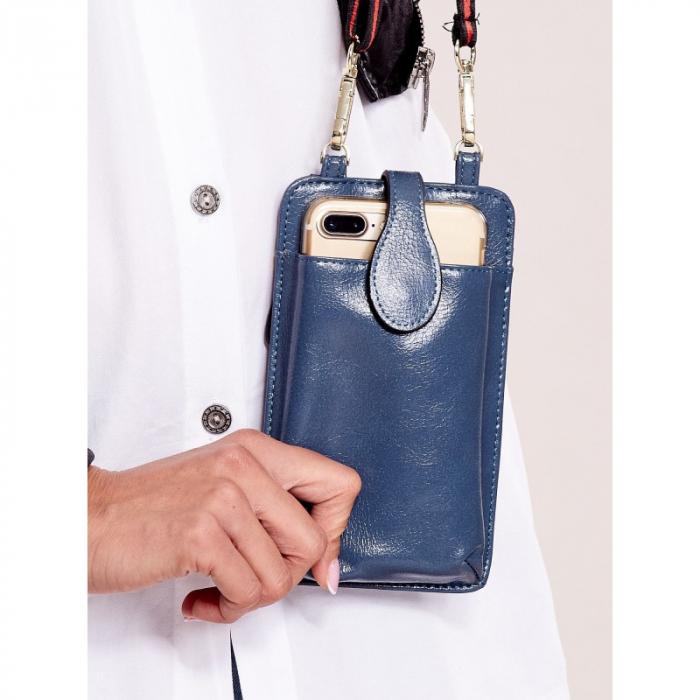 Portdocument (mini-borseta de umar) cu husa telefon din piele ecologioca (PU) BOR100 4