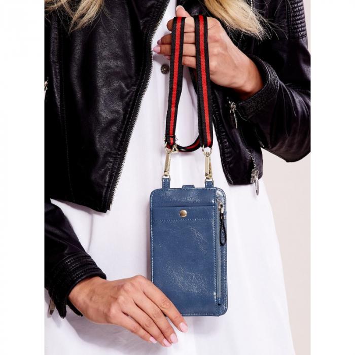 Portdocument (mini-borseta de umar) cu husa telefon din piele ecologioca (PU) BOR100 2