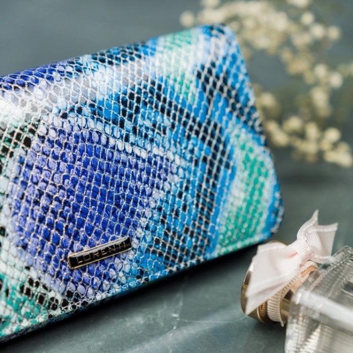 Portofel de lux pentru dama din piele naturala PORTG005 model sarpe 5