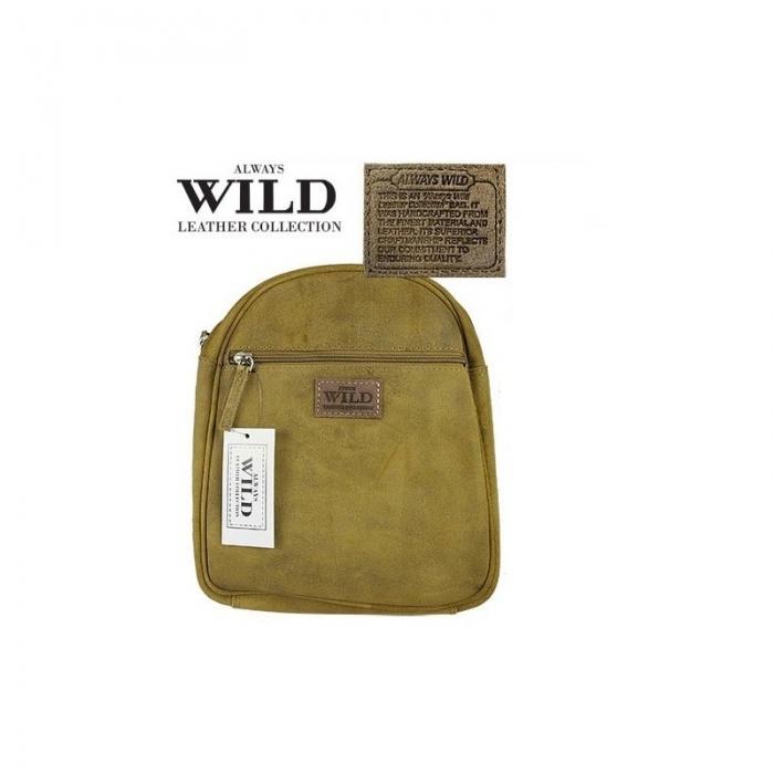 Rucsac piele naturala Wild RUC01 Maron 0