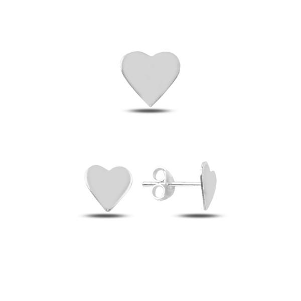 Set argint 925 cu inimioare - Be in Love STU0023 0