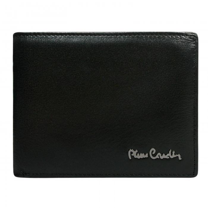 Set cadou barbati din piele naturala (portofel + curea) Pierre Cardin PORM800 4