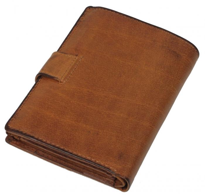 Set cadou barbati (portofel + curea) din piele naturala Wild BuffalOPORM636 5