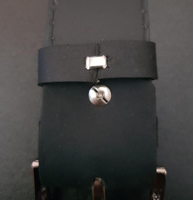 Set cadou barbati Wild BuffalO, portofel si curea din piele naturala, PORMG902 20