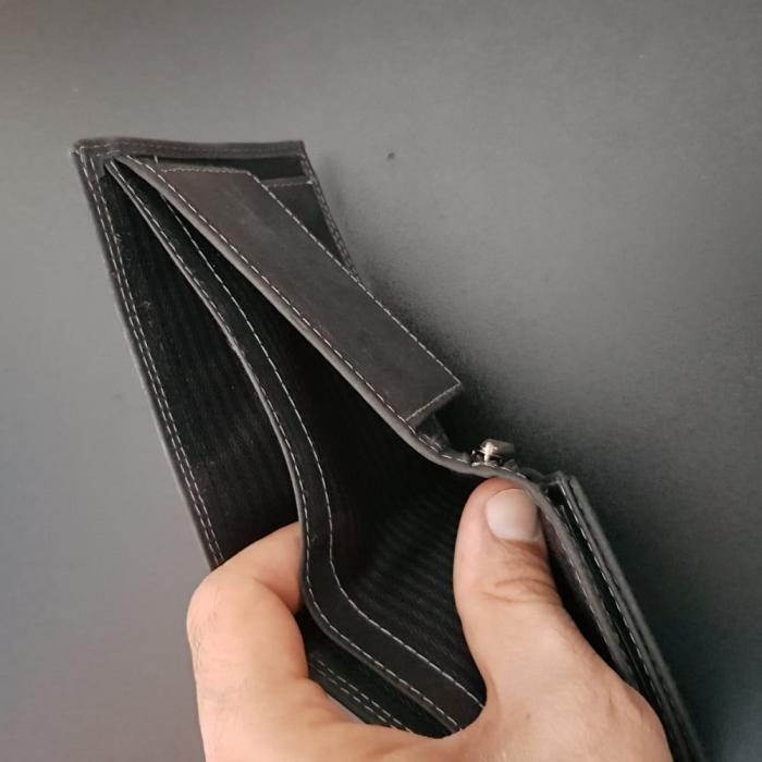 Set cadou barbati Wild BuffalO, portofel si curea din piele naturala, PORMG902 9