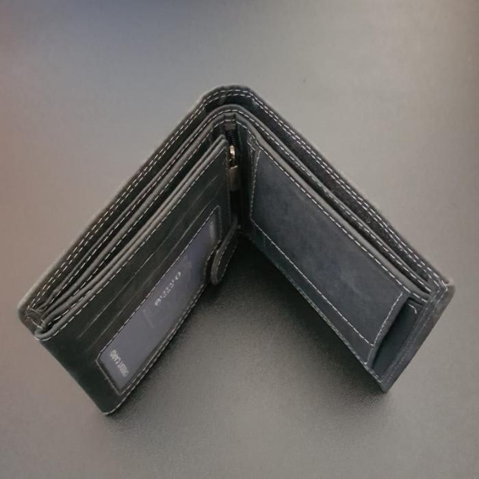 Set cadou barbati Wild BuffalO, portofel si curea din piele naturala, PORMG902 14