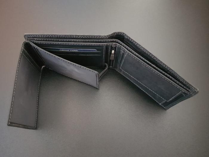 Set cadou barbati Wild BuffalO, portofel si curea din piele naturala, PORMG902 4