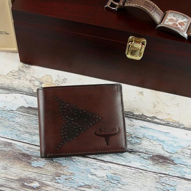 Set cadou barbati (portofel + curea) din piele naturala Wild PORM802 6