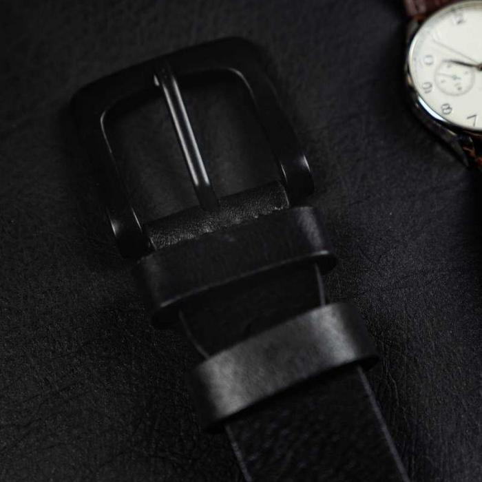 Set cadou barbati, portofel si curea din piele naturala, Rovicky, PORMG903, cu RFID 10